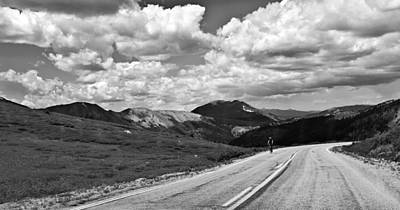 Photograph - Biking In The Mountains by Susan Stone