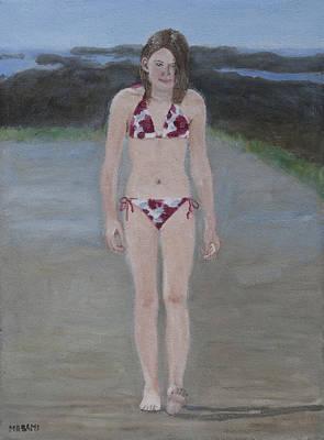 Painting - Bikini Walk by Masami Iida