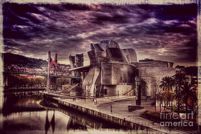 The Guggenheim Museum Bilbao Art Print