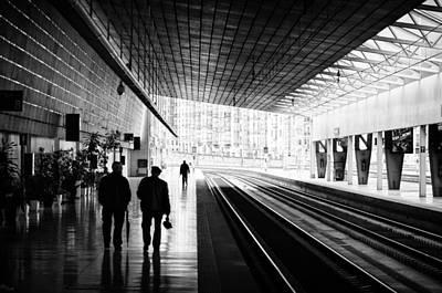 Photograph - Bilbao Train Station by Pablo Lopez