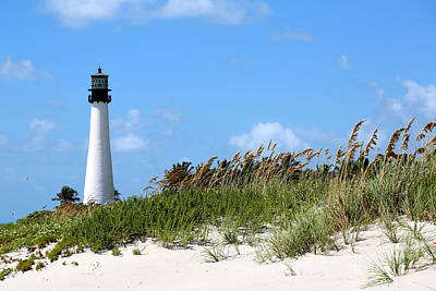 Photograph - Bill Baggs Lighthouse by Carol Groenen