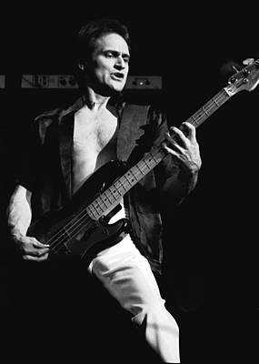 Photograph - Bill Church On The Bass by Ben Upham