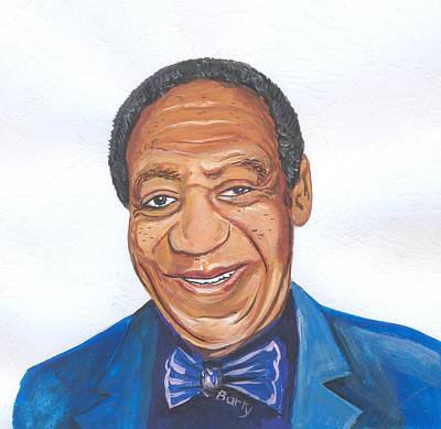 Painting - Bill Cosby 02 by Emmanuel Baliyanga
