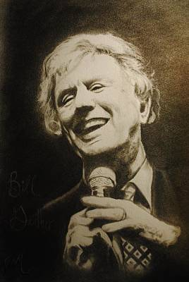 Drawing - Bill Gaither by Emily Maynard