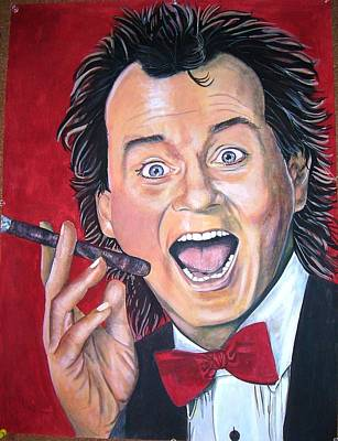 Bill Murray Art Print by Linda Vaughon
