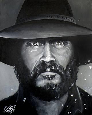 Mccoy Painting - Bill Paxton - Mccoy by Tom Carlton
