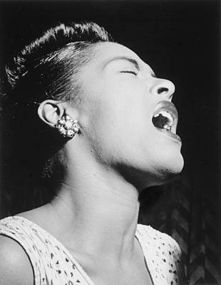 Billie Photograph - Billie Holiday by Georgia Fowler