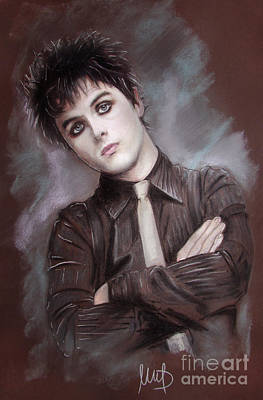 Singer Drawing - Billie Joe Armstrong by Melanie D