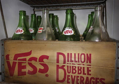 Photograph - Billion Bubble Vintage Bottles by Ann Powell