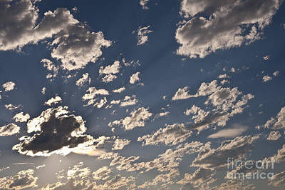 Photograph - Billowing Altocumulus Clouds by Jim Corwin