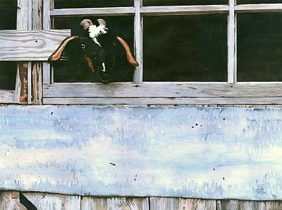 Painting - Bill's Goat by Pauline Walsh Jacobson