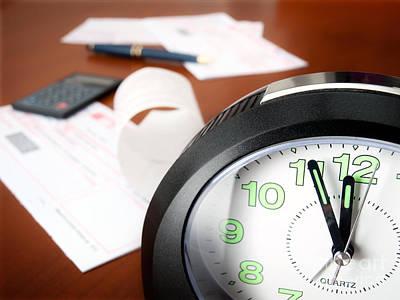 Bills Paying Time Print by Sinisa Botas