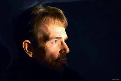 Digital Art - Billy Bob Thornton @ Fargo Tv Series by Gabriel T Toro