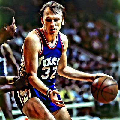 Billy Cunningham Art Print by Florian Rodarte