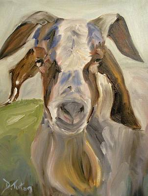 Barnyard Painting - Billy by Donna Tuten