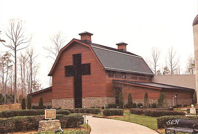 Photograph - Billy Graham Library by Lee Hartsell