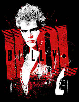 Billy Idol - Billy Art Print by Epic Rights