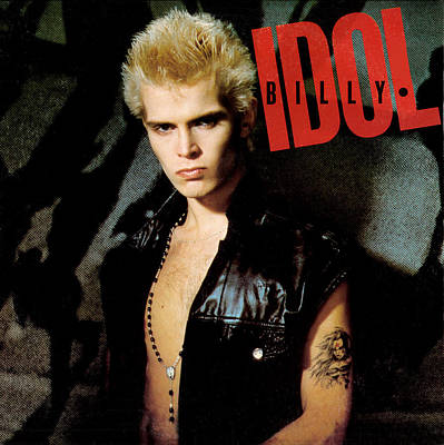 Billy Idol - Billy Idol 1982 Art Print by Epic Rights