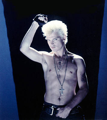 Billy Idol - Close Up & Personal Art Print by Epic Rights