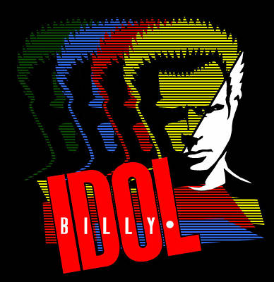 Billy Idol - Idol Art Print by Epic Rights