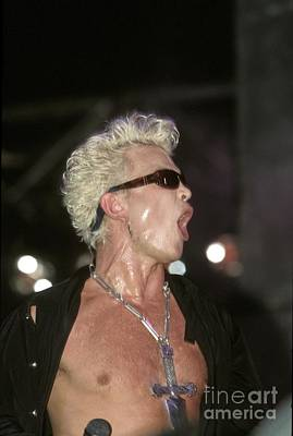Billy Idol Wall Art - Photograph - Billy Idol by Concert Photos