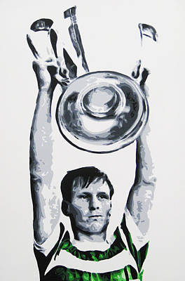 Billy Mcneill - Glasgow Celtic Fc Art Print