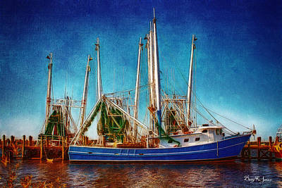 Photograph - Biloxi Boat Docks by Barry Jones