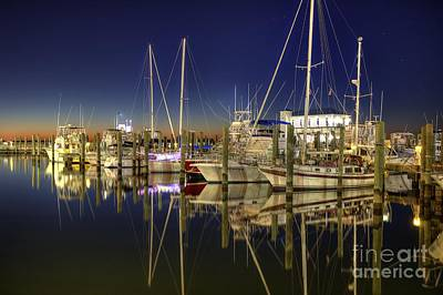 Photograph - Biloxi Harbor by Maddalena McDonald