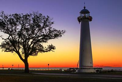 Biloxi Lighthouse Art Print