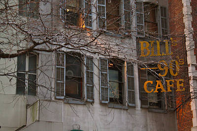 Photograph - Bill's At East 54th Street by Terry Wallace