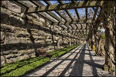 Photograph - Biltmore Garden Path by Erika Fawcett