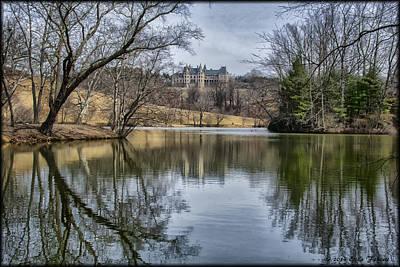 Photograph - Biltmore Reflection by Erika Fawcett