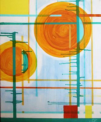 Digital Art - Binary Sunrise by Stephanie Grant