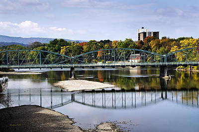 Photograph - Binghamton Ny South Washington St. Bridge by Christina Rollo