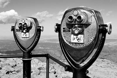 Photograph - Binoculars On Pike's Peak by Daniel Woodrum