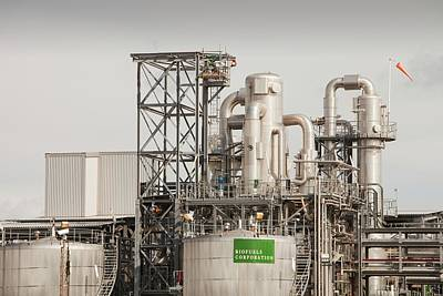 Factory Photograph - Biodiesel Plant by Ashley Cooper