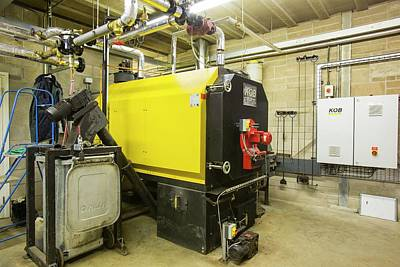 Boiler Photograph - Biofuel Boiler by Ashley Cooper