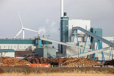 Biofuel Power Plant Art Print