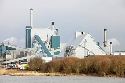 Biofuel Power Station Art Print