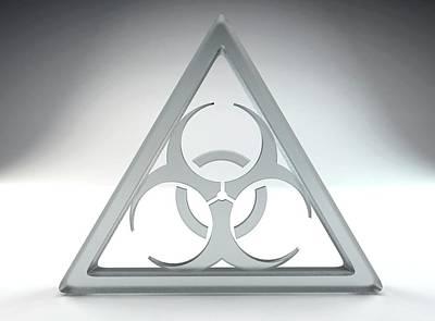 Biohazard Sign Art Print