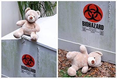 Humor Photograph - Biohazard Warning by William Patrick