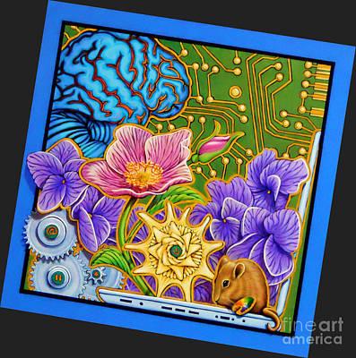 Sitka Painting - Biology Technology by Dorinda K Skains