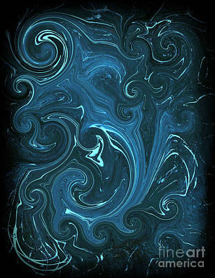 Fury Painting - Bioluminescence by Michael Grubb