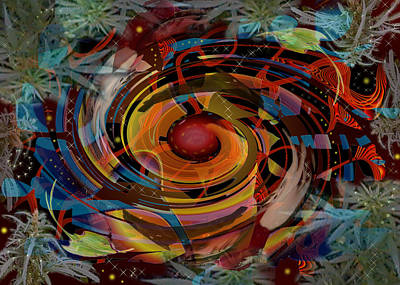 Digital Art - Biorhythm by Melinda Fawver