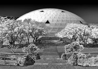 Biosphere2 - Dome Panorama Art Print by Gregory Dyer