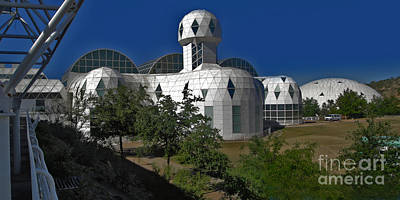 Biosphere2 Art Print by Gregory Dyer