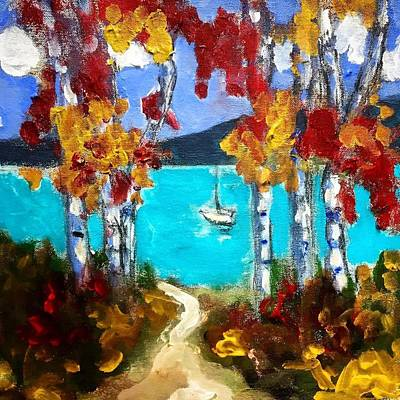 Painting - Birch Cove by Dilip Sheth