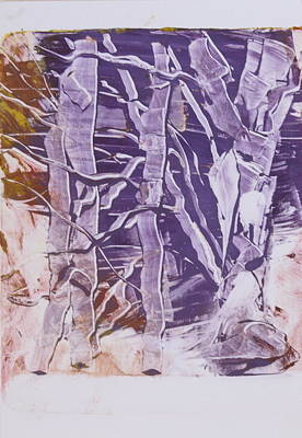 Painting - Birches In Winter by Claudia Smaletz