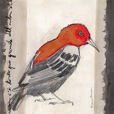 Bird 17 Art Print by Marco Sivieri