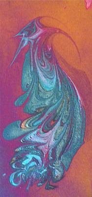 Painting - Bird Dance by Mike Breau
